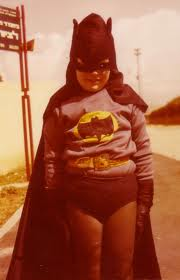 I would imagine Jesus in a Batman suit is far more intimidating. Actually, Jesus in a Jesus suit more than that. Still, love this pic.