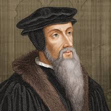 This is not my mom, but since she would probably not like any photo I picked of her, I'm giving you one of John Calvin instead.