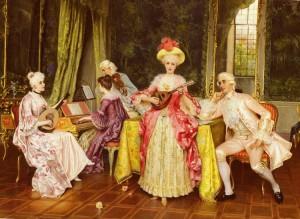 Sabatini (18th century) - The Music Lesson