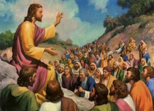 Jesus and the crowds