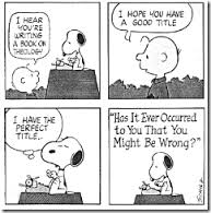 See, even Snoopy does theology.
