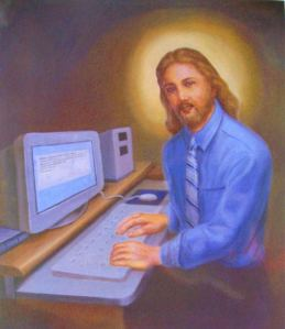This might be the most terrible portrait of Jesus I've ever seen.