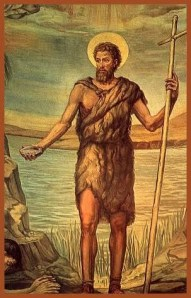 John the Baptist--very intense preacher.