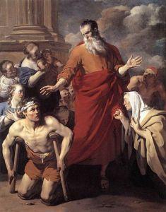 Paul healing Dujardin