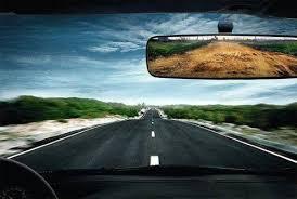 danger in the rearview