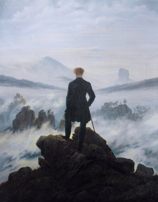 wanderer above sea fog