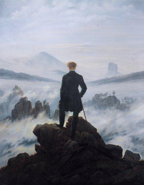 wanderer above sea fog